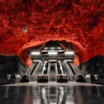 stockholm subway station images